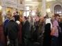 Богослужение с Митрополитом Павлом, 8.01.2012